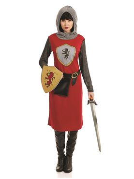 Adult King Knightess Costume