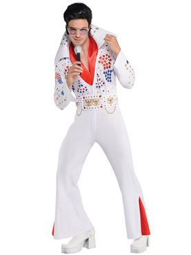 Adult King of Vegas Elvis Costume