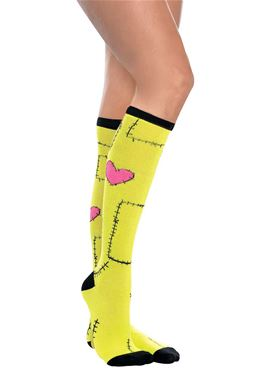 Adult Knee High Monster Socks