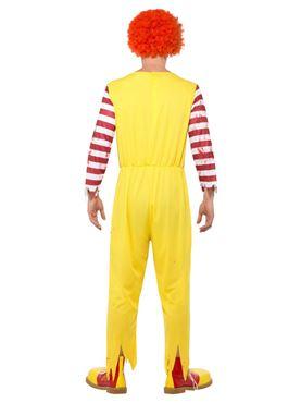 Adult Kreepy Killer Clown Costume - Side View