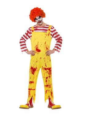 Adult Kreepy Killer Clown Costume