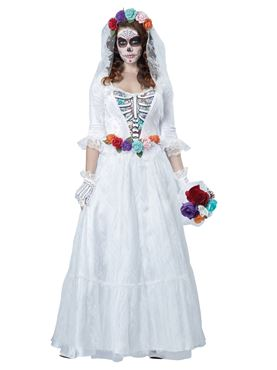 Adult Deluxe La Novia Muerta Costume