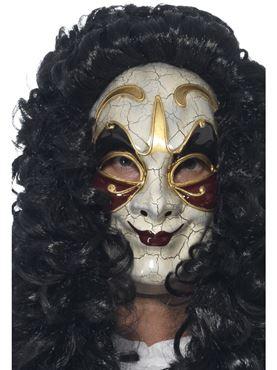 Adult Venetian Masked Highwayman Mask