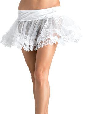 Adult Lace Trim Petticoat