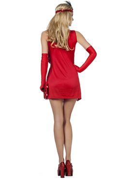 Adult Ladies Charleston Flapper Costume - Side View