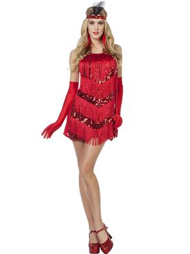 Adult Ladies Charleston Flapper Costume