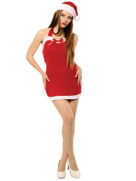 Adult Ladies Christmas Sweetie Costume