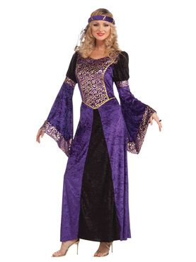 Adult Ladies Medieval Maiden Costume Thumbnail