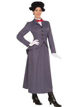 Adult Ladies Nanny Costume Couples Costume