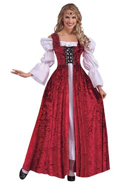 Adult Ladies Medieval Gown