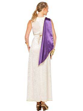 Adult Ladies Roman Livia Costume - Side View