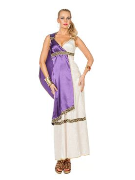 Adult Ladies Roman Livia Costume