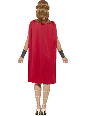 Adult Ladies Roman Warrior Costume - Side View