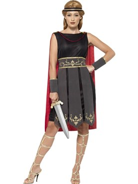 Adult Ladies Roman Warrior Costume Couples Costume