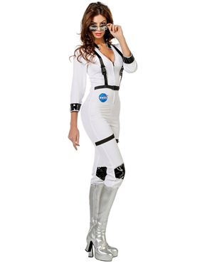 Adult Ladies Sexy Astronaut Costume