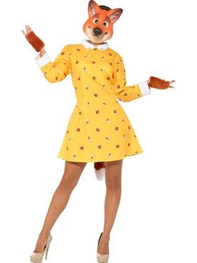 Adult Lady Fox Costume