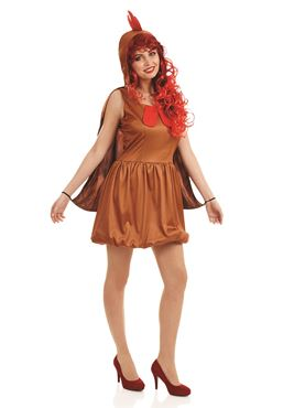 Adult Lady Hen Costume Couples Costume