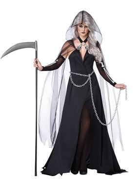 Adult Lady Reaper Costume Thumbnail