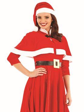 Adult Lady Santa Costume - Back View
