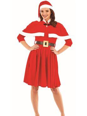 Adult Lady Santa Costume