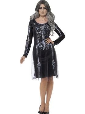 Adult Lady Skeleton Costume