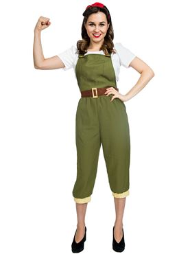 Adult Land Girl Costume