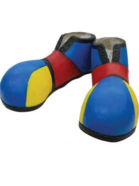 Adult Latex Clown Shoe Covers