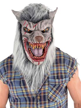 Adult Latex Werewolf Mask