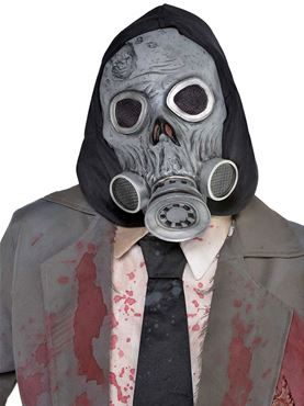 Adult Latex Zombie Gas Mask