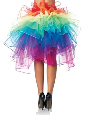 Adult Layered Organza Bustle Skirt