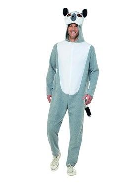 Adult Lemur Onesie Costume