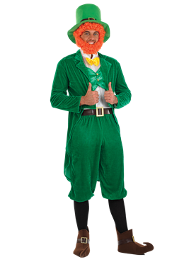 Adult Leprechaun Costume Couples Costume