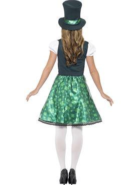 Adult Leprechaun Lass Costume - Side View
