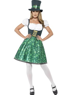 Adult Leprechaun Lass Costume Couples Costume