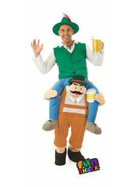 Adult Lift Me Up German Beer Man Costume