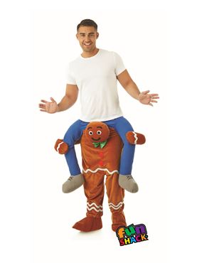 Adult Lift Me Up Gingerbread Man Costume
