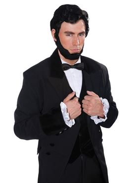 Adult Lincoln Wig & Beard