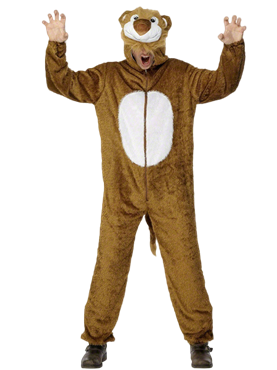 Adult Lion Costume Couples Costume