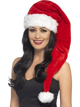 Adult Long Santa Hat