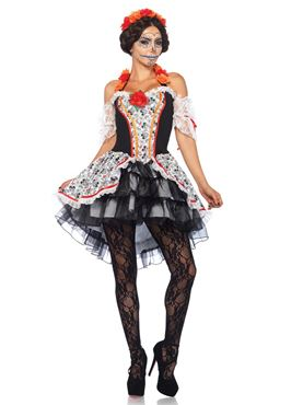 Adult Lovely Calavera Costume Thumbnail