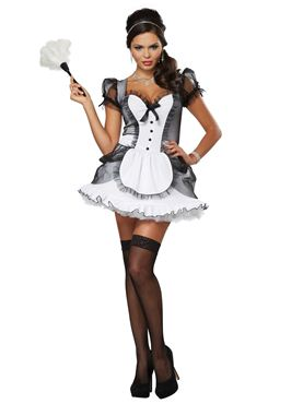 Adult Luxe French Maid Costume