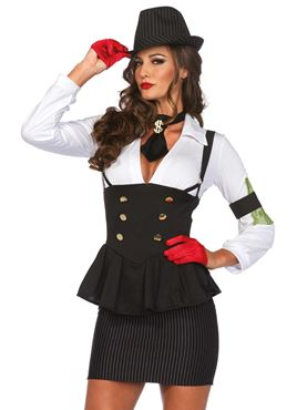 Adult Machine Gun Molly Costume