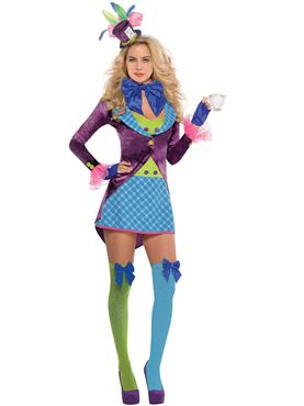 Adult Sexy Mad Hatter Costume