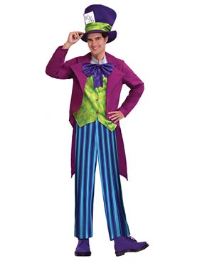 Adult Mad Hatter Costume Couples Costume