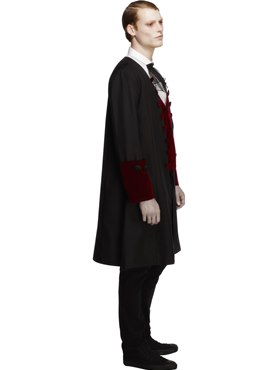 Adult Male Fever Gothic Vamp Costume - Back View