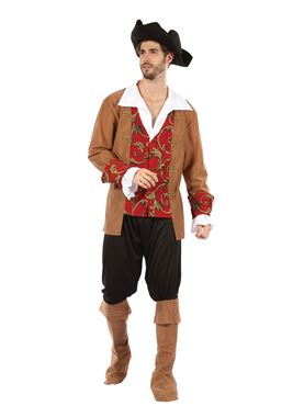 Adult Male Pirate Costume Couples Costume
