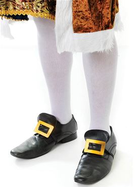 Adult Male White Knee Socks