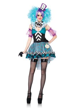Adult Maniac Mad Hatter Costume