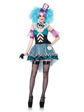 Adult Maniac Mad Hatter Costume