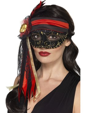 Adult Masquerade Pirate Mask